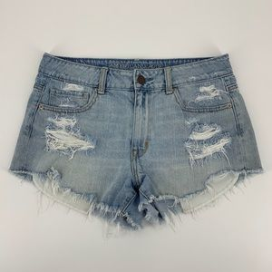American Eagle Outfitters Distressed Shorts 8